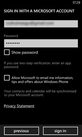 How to transfer data from iPhone to Nokia Lumia